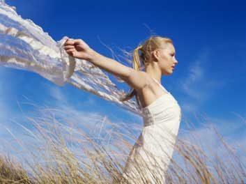 fresh air woman