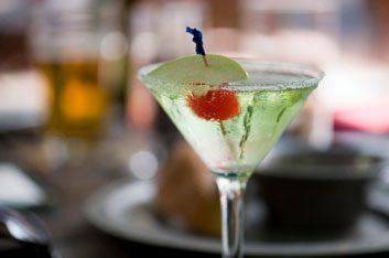 green martini