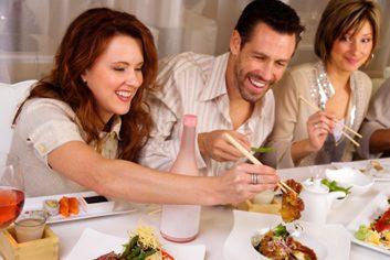 healthy eating restaurant sushi