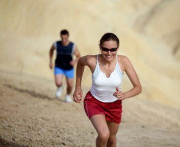 hill running run desert