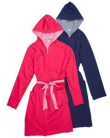Striped Cotton Kimono