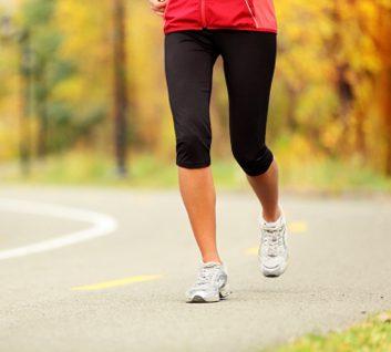knees running