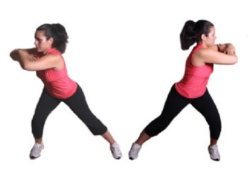 Lateral Lunge with Torso Twist