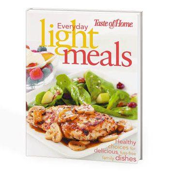 light meals cookbook