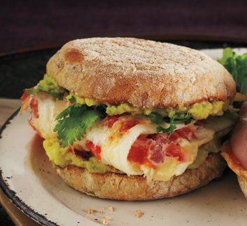 Mexi-Veggie Breakfast Sandwich