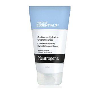Neutrogena Ageless Essentials Continuous Hydration Cream Cleanser