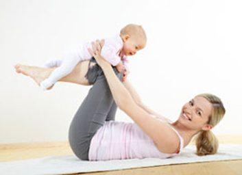 mom baby fitness