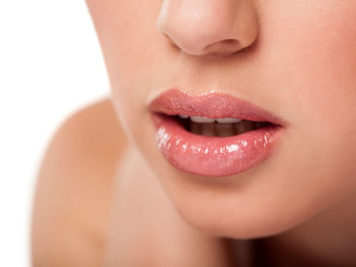 Tawny nude lip colour
