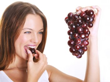 overeating grapes