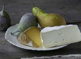 pear and goat cheese