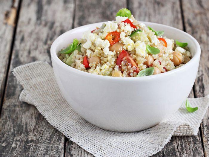 Plant protein quinoa