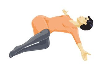 Best Stretch: Reclining Twist
