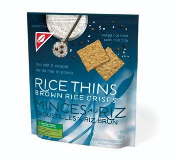 brown rice crisps