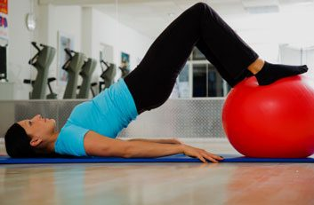 Rolling hamstring curl fitness