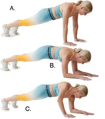 rollling plank