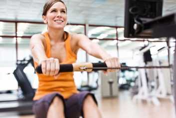 rowing exercise fitness