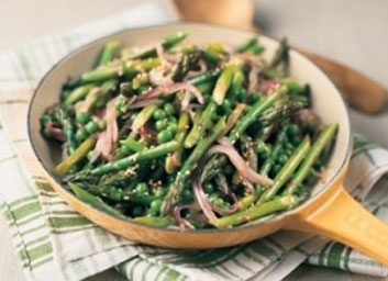 asparagus and sesame large