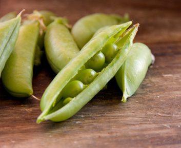 shelled peas