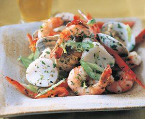 Shellfish Salad With Herbed Lemon Dressing