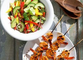3 fresh summer salads
