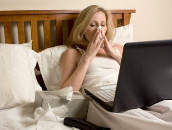 sick cold flu