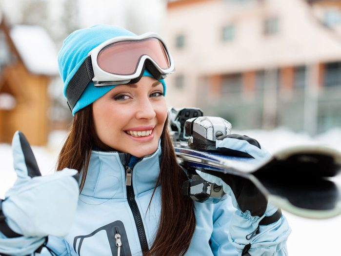 Benefits of skiing for immunity