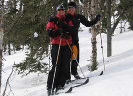 Stay fit with cross-country skiing