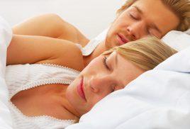 couple sleeping large