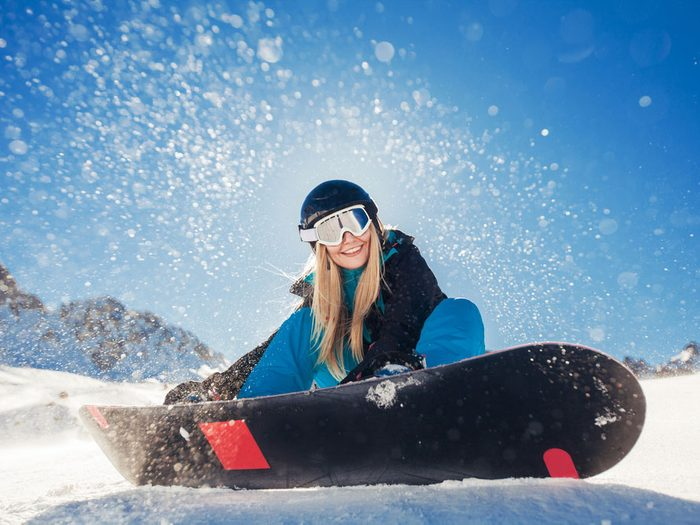 Benefits of skiing for happiness
