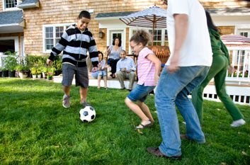 The health benefits of soccer