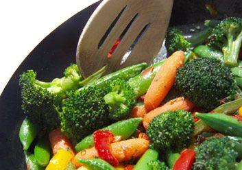 cooking stir-fry