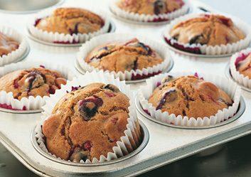 Summer Berry Muffins