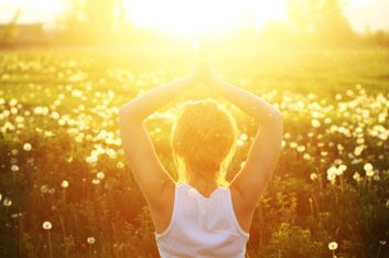 sunlight meditation