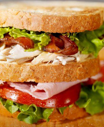 Big club sandwich