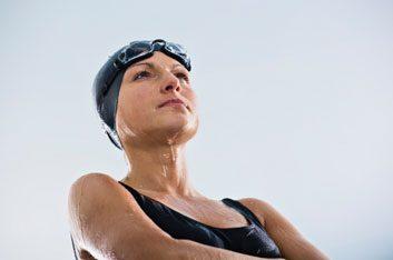 swimmer athlete fit