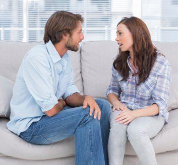 talking couple