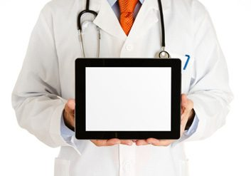 doctor technology ipad computer