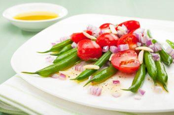 tomato green bean salad