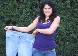 'I learned how to exercise the right way'and lost 50 pounds.'