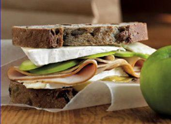 turkey brie sandwich