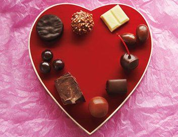 valentine chocolate