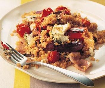 quinoa eggplant