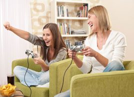 Are sports and video games real workouts?