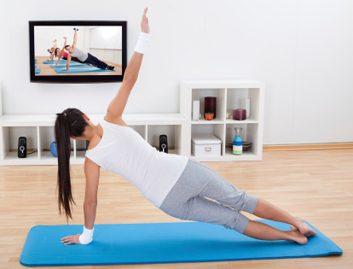 Fitness Trend: Webcam classes