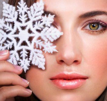 winter make up beauty