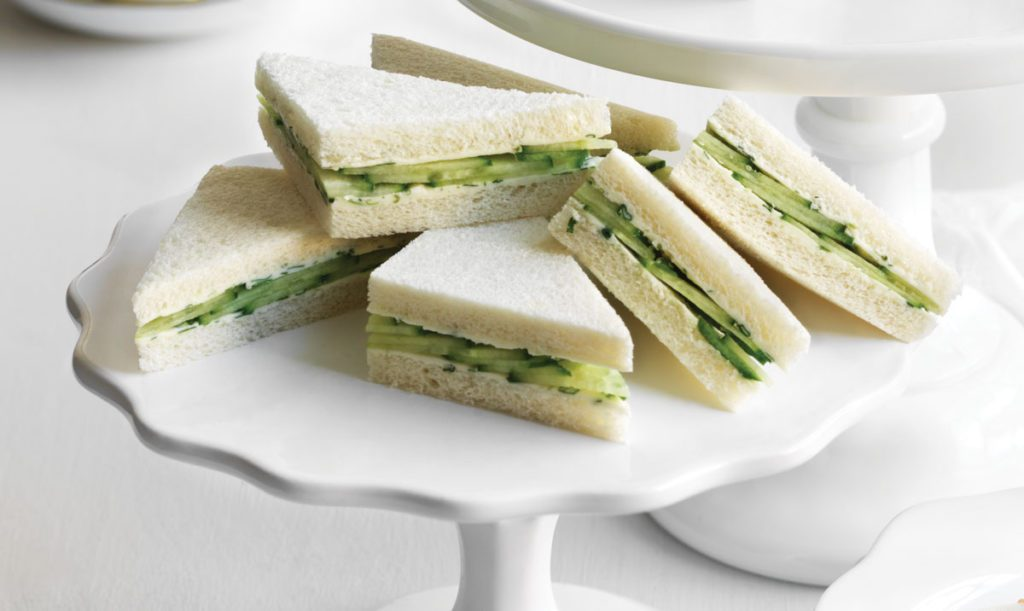Cucumber Tea Sandwiches