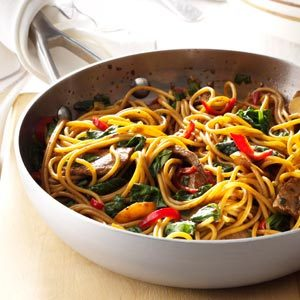 beef-and-spinach-lo-mein
