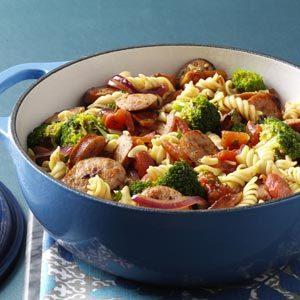 pasta-and-broccoli-sausage-simmer