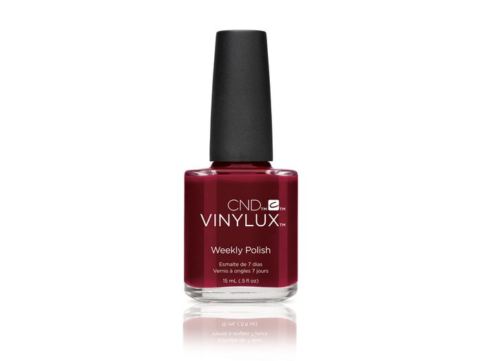CND Vinylux Weekly Polish in Oxblood