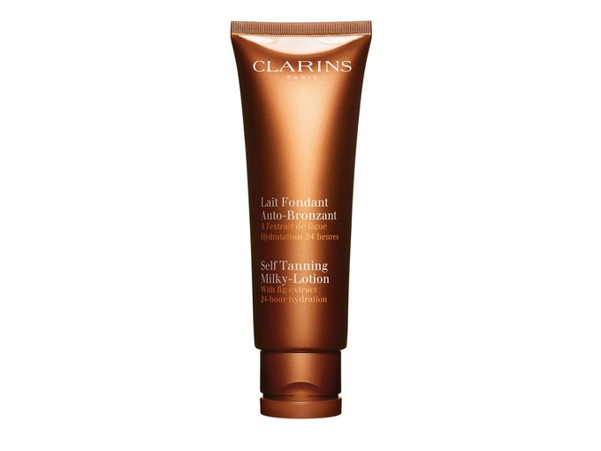 Clarins Self Tanning Milky-Lotion, $37
